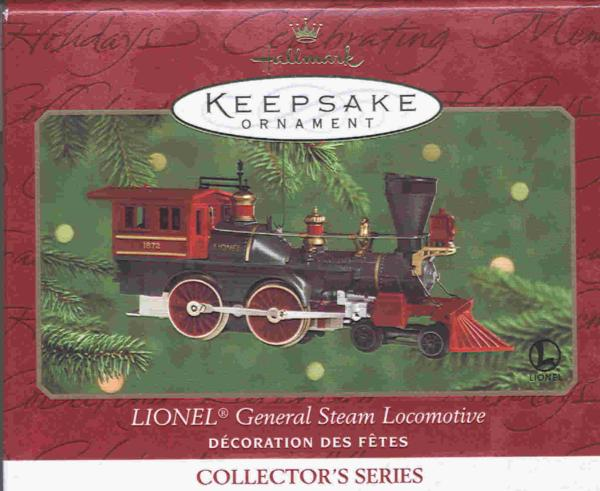 2000 Hallmark Lionel Train Engine